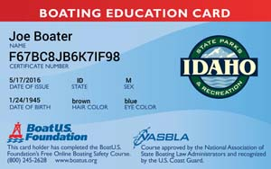 boating card