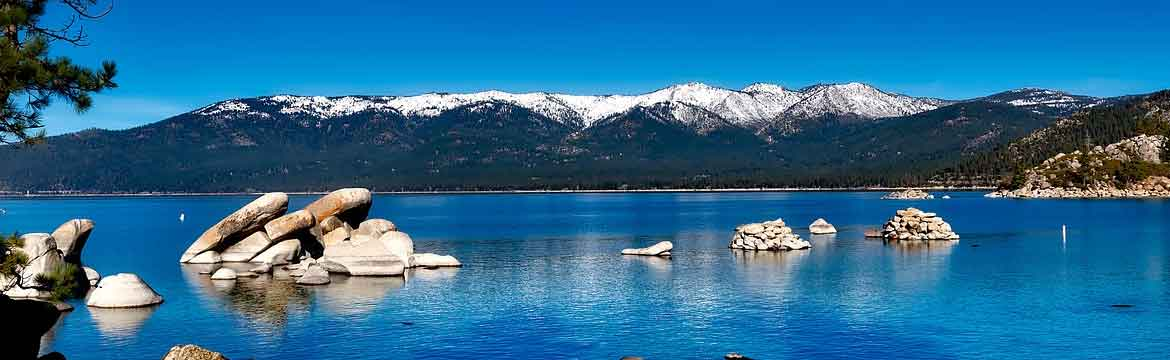 lake tahoe and its beautiful blue water
